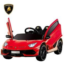 12V Rouge jouet pour bébé de véhicule de rouler sur
