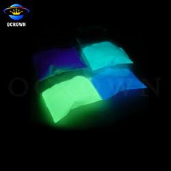 Phosphoreszierendes Leuchtfarbe-Nachtglühen-Puder-glühendes Pigment