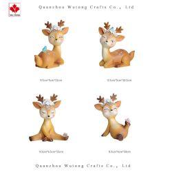 Promozione resina cute Sika Deer Animal regali per la casa