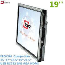 タッチスクリーン 15 インチ '17 インチ '19 インチ産業用キオスク、自動再生型マシン広告、赤外線 VGA モニター、オールインワン PC