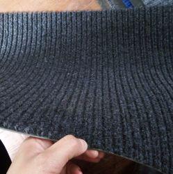 Установите противоскользящие коврики с обратной связью винила двойной рубчик коврик
