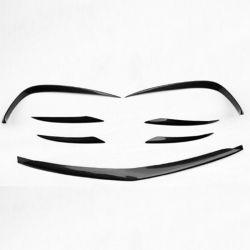 Carro Tuning Lábios Dianteiro Embaladeiras body kits para Mercedes Classe E W213