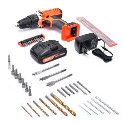 20V 43pieces elektrischer Schlüssel-Schraubenzieher-drahtlose Bohrgerät-Handenergien-Hilfsmittel