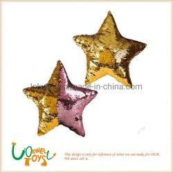 Мягкие игрушки Мягкая игрушка пайетками блестящих Star фаршированные подушки