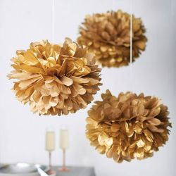 Groothandel Paper Flower for Wedding Party Decorations Tissue Paper POM Moeders
