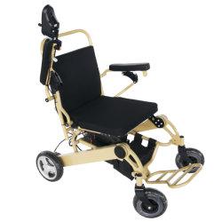 A extremidade superior da cadeira de rodas de transporte automático cadeira de rodas Eléctrica