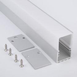 Bac d'éclairage de la couronne de la corde de moulage des plaques de plâtre plafond Fixture d'éclairage LED en aluminium pour Cordon LED STRIP