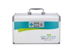 Verrouillable en aluminium avec poignée de portable de cas de la médecine (AR8037)