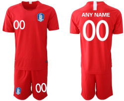 Eenvormige Uitrustingen van het Overhemd van de Voetbal van het Huis van Jersey van het Voetbal van Zuid-Korea de Rode