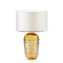 Lampada vetro/metallo della Tabella del salone di disegno di individualità (Km5098)