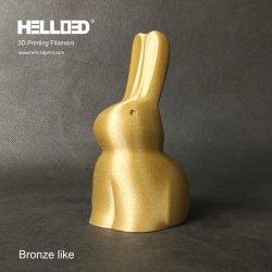 3DプリンターのためのHello3dの青銅色のフィラメントの金属フィラメント