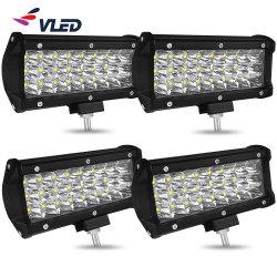 LEIDENE Lichte Staaf 3 Bol van de Mist van de Vlek van de Lamp van het Werk van de Rij Offroad Drijf van Weg Auto12V 24V