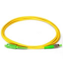 Resistente al agua en el interior de fibra óptica monomodo Cable de fibra óptica en forma de espiral