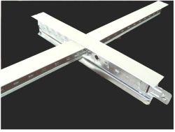 Rejilla de metal de forma de T