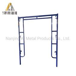 مسحوق سماكة مطلي Q235 من الفولاذ البناء H كاشطة إطار من الفولاذ لمدة بناء المباني