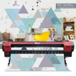 3.2 metros Banner Flex Impresora Solvente Plotter de jacto de tinta da Impressora Impressora com Cabeça de Impressão Konica (MT-KN3208CI)