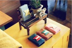 Happyori Wallet Leather Mobile Phone4 케이스 커버(iPhone4 4s)