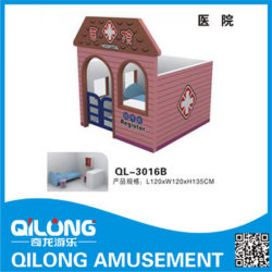 Indoor Soft Play House (QL-3016B)