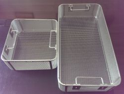 Tray perforato Stainless Steel Net Side Hole Less Di 2mm