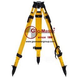 Trépied Medium-Duty Geomaster arpenteurs de fibre de verre GF-F16A1 pour les instruments d'arpentage Leica/Sokkia/Topcon/Nikon/TRIMBLE/Geomax/Geotool