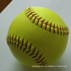 """12"""" amarillo de softbol de formación"""