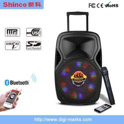 120W実行中の携帯用無線Bluetooth DJのカラオケのスピーカー