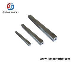 Separador de quadrados da haste magnética do Tubo da barra de magneto de neodímio Filtro Magneto