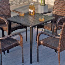 Piscina As medulas terraço jardim Leisure cadeiras e mesas