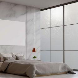 فينيل ذاتي اللصق ترويجية يغطي نافذة زجاج الورق المجمد PVC تزيين ملصق فيلم غليتر للتزيين