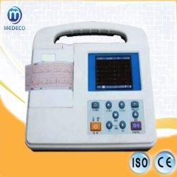 Mim2301g portátil hospitalar 1 Máquina de ECG de canal 3.5 Eletrocardiógrafo Digital