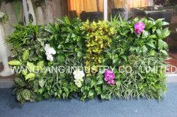 Simulação de falsos plantas verdes artificiais para decoração