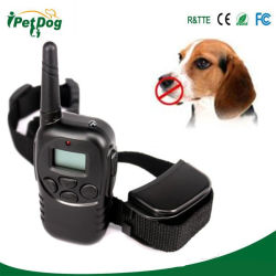 Он498 с дистанционным управлением собака подготовки воротник, аккумуляторы и водонепроницаемый, все размеры собак (10кг - 100 фунтов) , 1000 метров