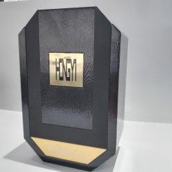 Custom forma irregular modernos de madera de alta calidad caja de regalo