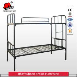 Schule-Kind-Projekt-Hotel-preiswerte Hauptmöbel-Militärstahlkursteilnehmer-Doppelt-Arbeitskraft-Gebrauch-Metallrahmen-Koje-Bett