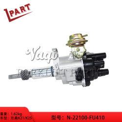 As peças do carro elevador o conjunto do distribuidor N-22100-Fu410 para K21 K25 Motor