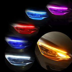 Система освещения дневного движения с текущей лампа сигнала поворота направляющую планку фонари освещения автомобиля