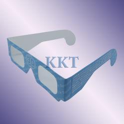 العرض الترويجي استخدم نظارات ثلاثية الأبعاد باللون السماوي الأحمر على لوح الورق (P3CP)