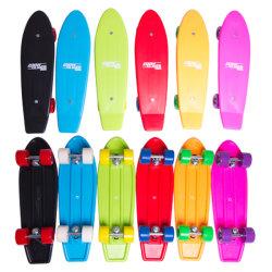다채로운 플라스틱 소형 스케이트보드는을%s 가진 주문 설계한다