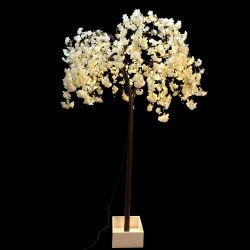 Fabrik-Kirschblüten-Baum nach Maß Innender partei-Dekor-künstlicher Stellung-BSCI mit LED-Lichtern