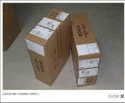 Коммутатор WS-C2960s-24PS-L