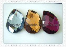 Chute de verre à fond plat en forme de pierre (DZ-nouveau-012)