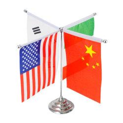 Vlag /Banner van de Auto van de Polyester van de douane de Decoratieve Nationale Aangepaste