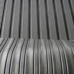 Het antislip RubberRubber van de Toevoeging van de Stof van het Bed van de Koe van het Blad Rubber