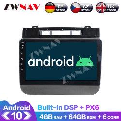 Giocatore 10.0 di multimedia dell'automobile del Android di Px6 4G+64GB per l'unità stereo radiofonica ad alta fedeltà della testa dello schermo di tocco di Volkswagen Touareg GPS Navi Navi IPS