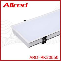 고전력 연결 가능 지원 LED 라이트 순백색 하드 블랙 CE를 포함한 라이브러리용 LED 조명 천장 매립형 LED 조명 SAA