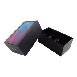 包むカスタムロゴのパッケージの携帯電話の箱引出しの移動式包装の充電器のペーパー小さい荷箱を滑らせる