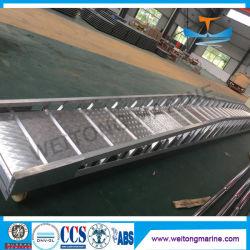 L'échelle de l'acier aluminium Marine passerelle quai pour la vente de l'échelle