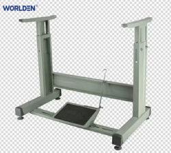 حامل وطاولة قابلان للضبط لماكينة الخياطة الصناعية