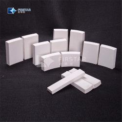 Cina Zibo fabbrica produzione High Alumina Ceramica resistente all'usura Fodera