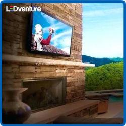 Frente al aire libre en el interior de gráficos de animación de servicio de Billboard de la pantalla de vídeo LED LED